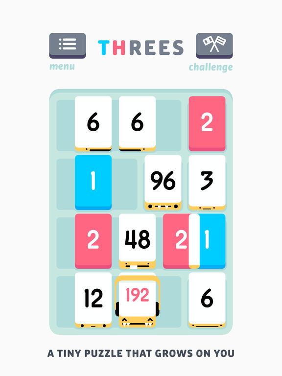 Threes!. Скрин 5