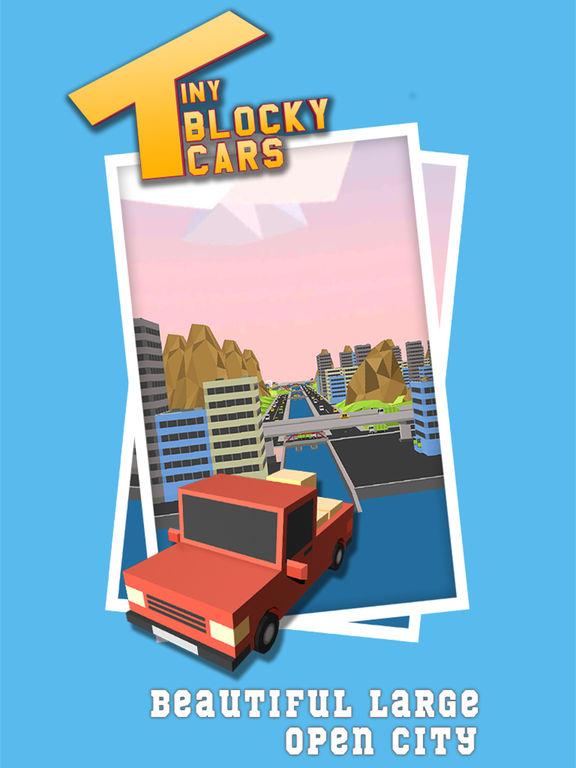 Tiny Blocky Cars Screenshots
