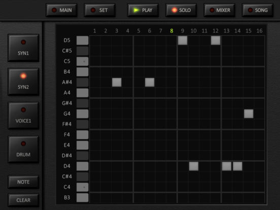KORG iDS-10 Screenshots