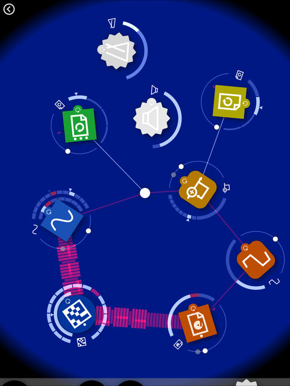 Reactable mobile screenshot