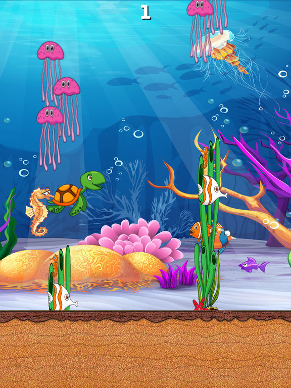 Flappy Turtle Aquarium Adventure screenshot