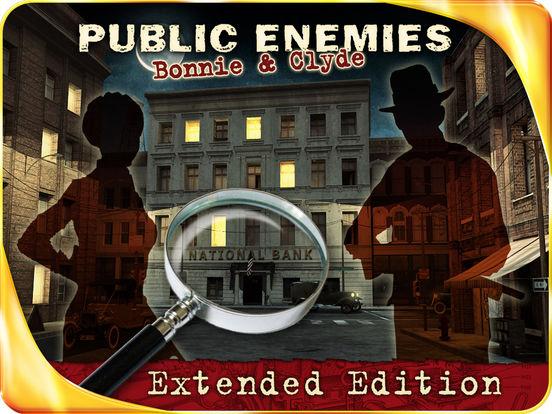Public Enemies : Bonnie & Clyde HD iPad Screenshot 1