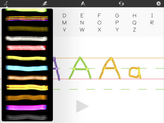 Learn To Write iPad Screenshot 1