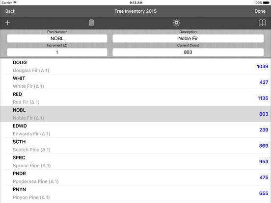 All Counter iPad Screenshot 3