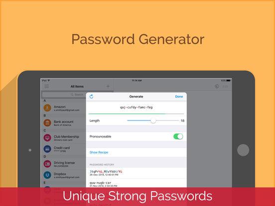 Enpass Password Manager Screenshots