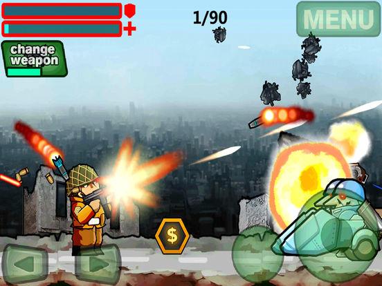 Commando Metal Soldiers Slug-Hero Of War Screenshots