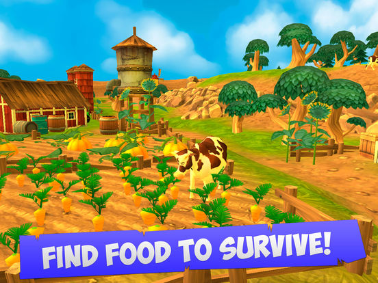Cartoon Mad Cow Simulator 3D Full Screenshots