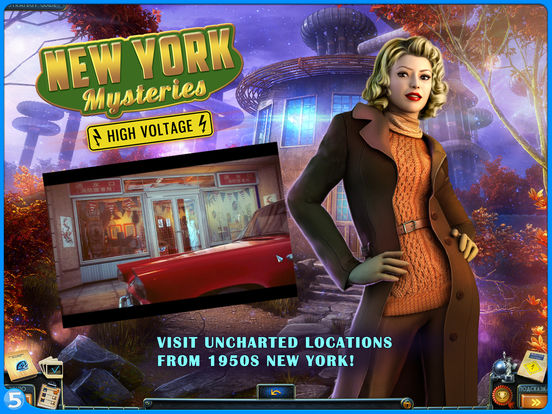 New York Mysteries 2: High Voltage HD (Full)screeshot 2