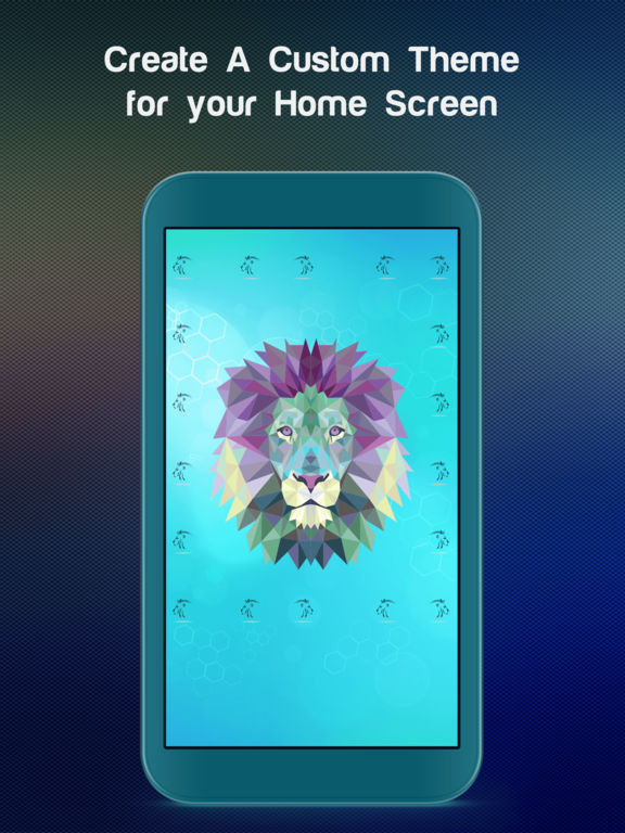 Home Screen Maker - Customize your homescreen with beautiful & colorful Themes by FexyHome screenshot