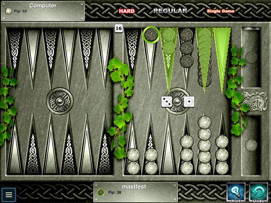 Backgammon HD iPad Screenshot 4