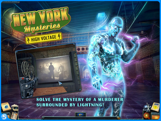 New York Mysteries 2: High Voltage HD (Full)screeshot 1