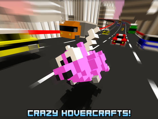 Screenshots of Hovercraft - Build Fly Retry for iPad