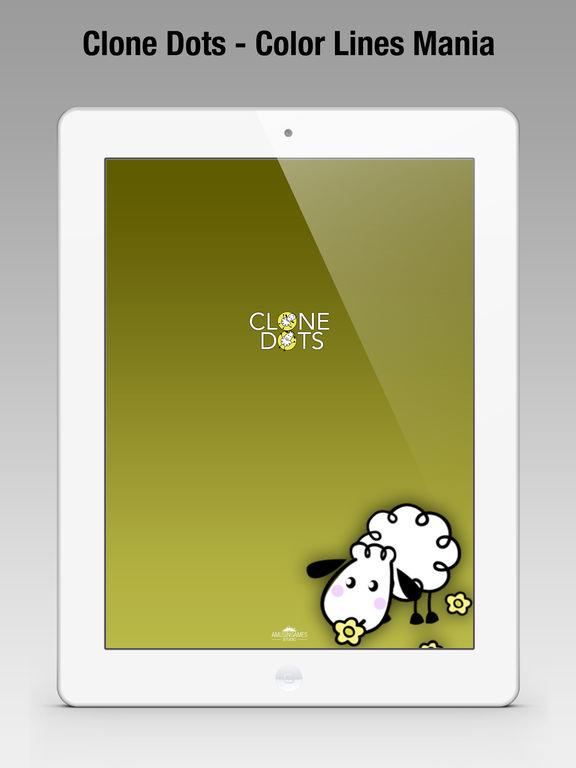 Игра Clone Dots - Color Lines Mania