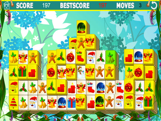 Mahjong Xmasscreeshot 1