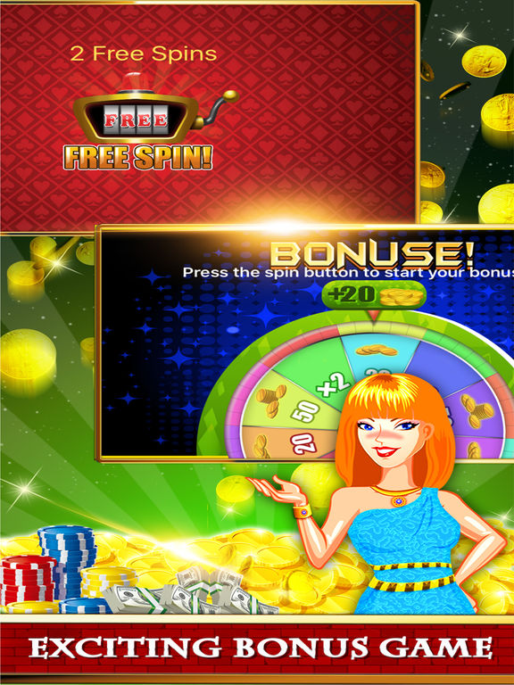 Free Las Vegas Casino Slots Machine Games - Spin for New Party-ipad-2
