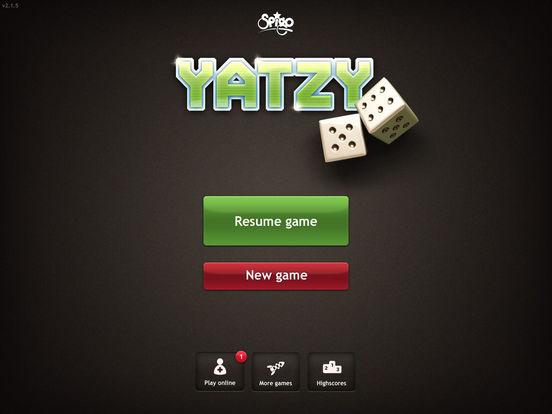 Yatzy iPad Screenshot 3