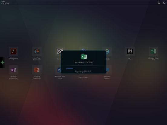 Citrix Receiver for iPad iPad Screenshot 4