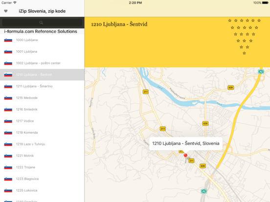 izip Slovenia iPad Screenshot 1