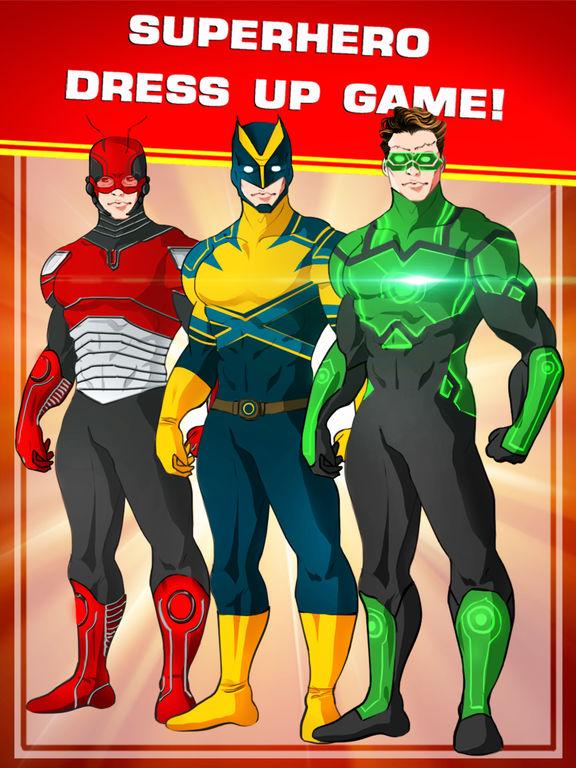Create Your Own Superhero Character For Freescreeshot 1