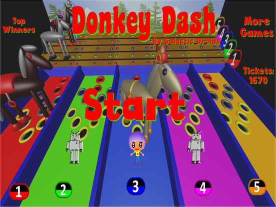 Donkey Dash Derby Pro screenshot 7