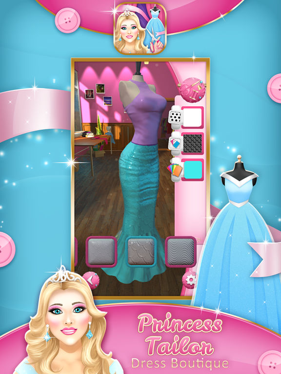 App Shopper Princess Tailor Dress Boutique Girl Fashion Design Games