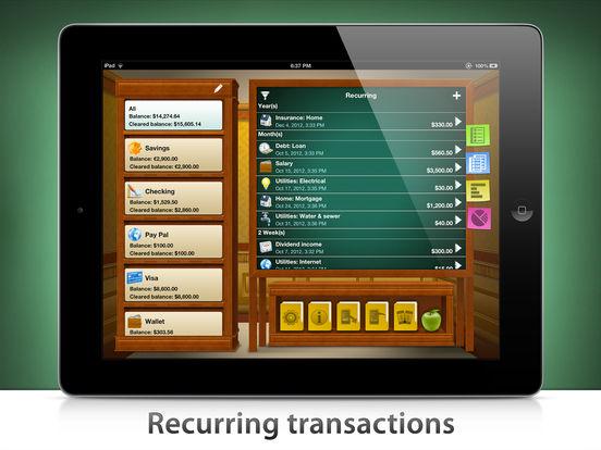 Checkbook HD iPad Screenshot 5