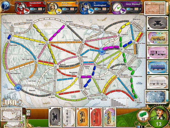 Board Game Ticket to Ride For iOS Reaches Lowest Price In Three Months