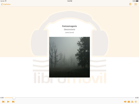 Fantasmagoría - AudioEbook iPad Screenshot 1