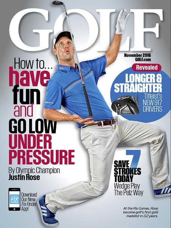GOLF Magazine screenshot