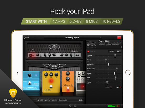 AmpKit+ guitar amps, pedals, tools & effects Screenshots
