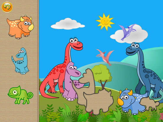 Dino Puzzle: Kids Dinosaurs Puzzles Learning Games screenshot