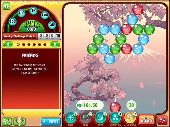 Free bubbles shooter games online