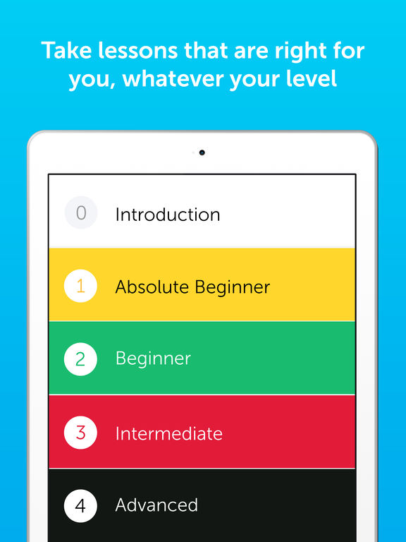 Innovative Language 101 - Learn Spanish, French, Japanese, English and 30 More Languages Free screenshot