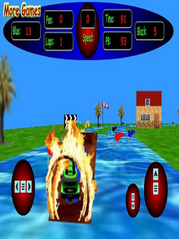 3D Kid's Jet Ski Racing - Beware Of The Shark Screenshots
