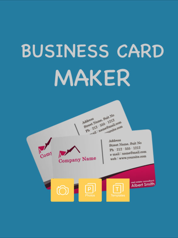 App shopper business card maker pro business for App to make business cards