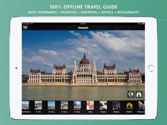 Budapest: Travel Guide iPad Screenshot 1