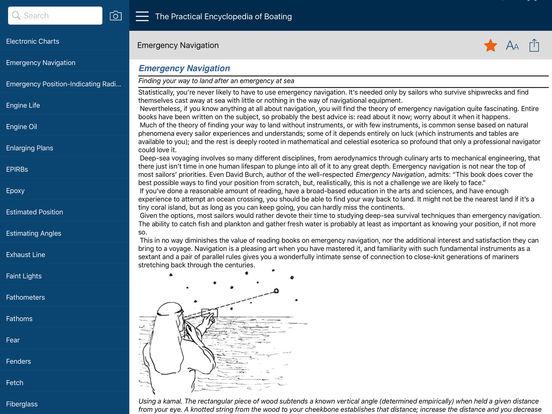 The Practical Encyclopedia of Boating iPad Screenshot 2