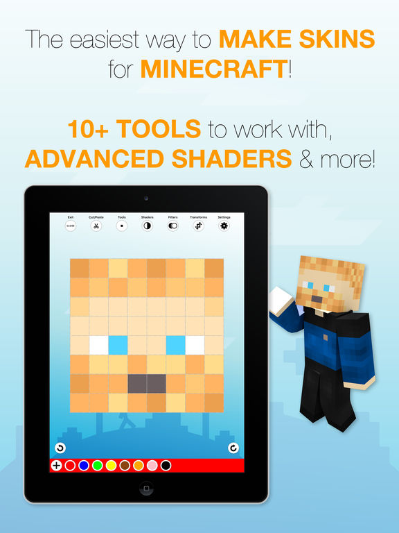 Skin Creator for Minecraft screenshot 7