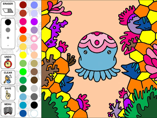 Aquarium Coloring ~Ocean Life~ iPad Screenshot 3