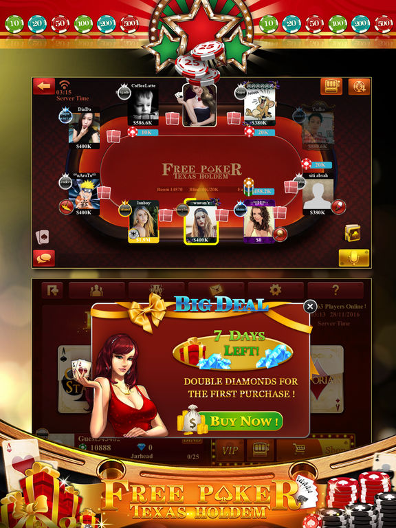 android texas holdem