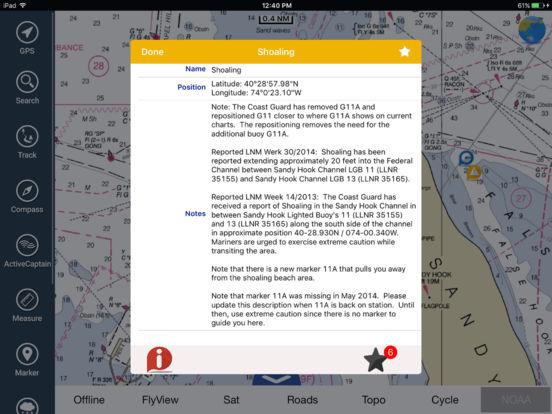 Marine: Melbourne HD - GPS Map Navigator iPad Screenshot 4