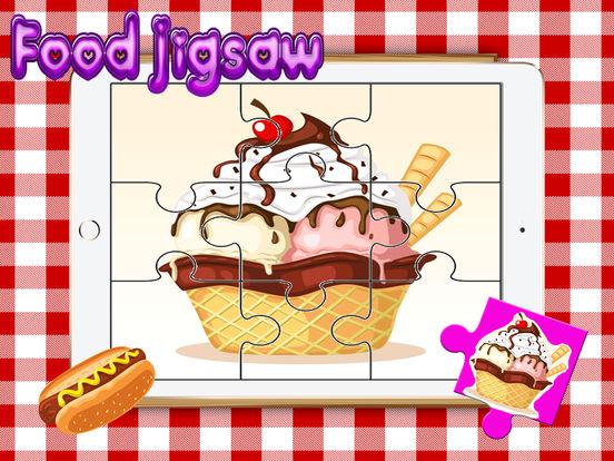 Food Yummy Головоломка для взрослых - Изучение Fruit паззлы игры бесплатно для малыша малышей и детей дошкольного Скриншоты4