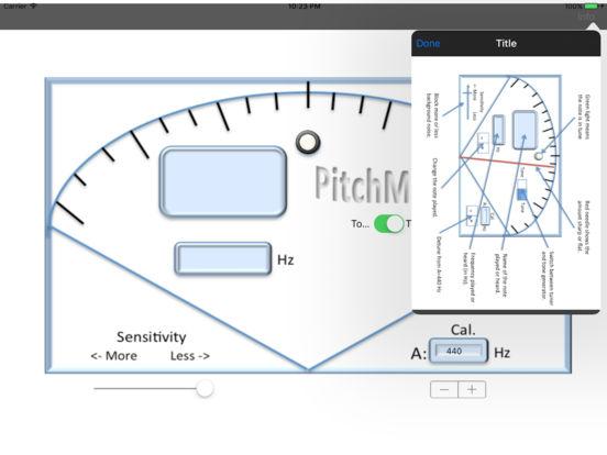 PitchMaster iPad Screenshot 2