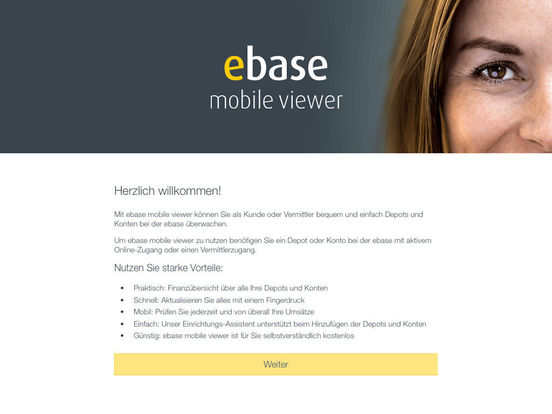 ebase Mobile iPad Screenshot 1