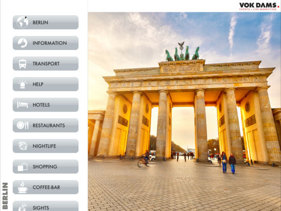 Berlin Guide iPad Screenshot 2