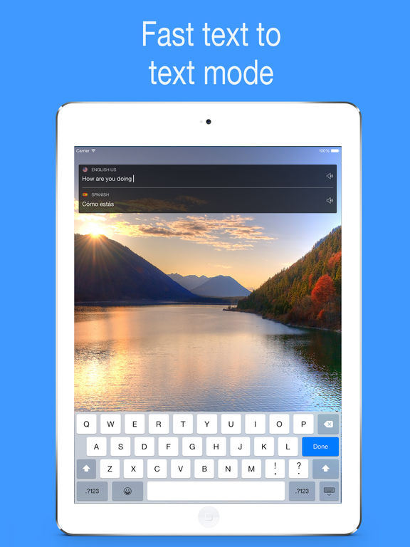 myTranslator.io: Voice and Text Translator Screenshots