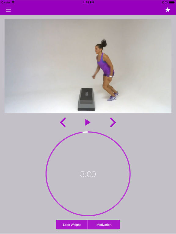 Step Aerobics Workouts & Fitness Exercises Routine Screenshots