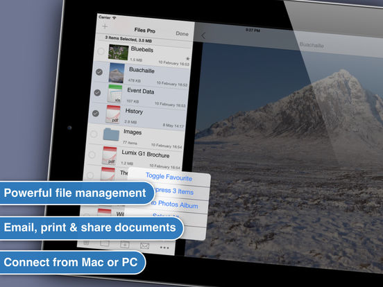 Files HD : Document Reader iPad Screenshot 3