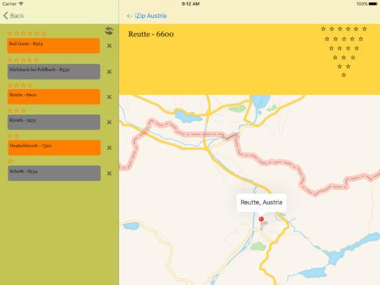 izip Austria iPad Screenshot 1