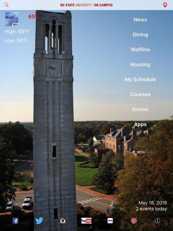 On Campus Screenshot